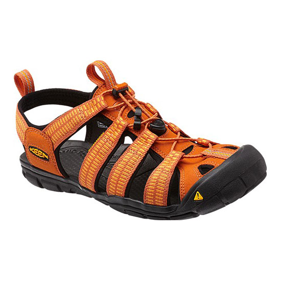 Cheap KEEN CLEARWATER CNX Men sunset/marigold Online