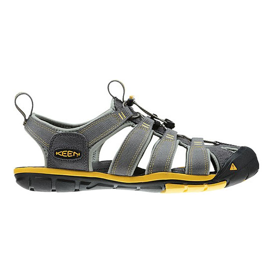 Cheap KEEN CLEARWATER CNX Men gargoyle/super lemon Online