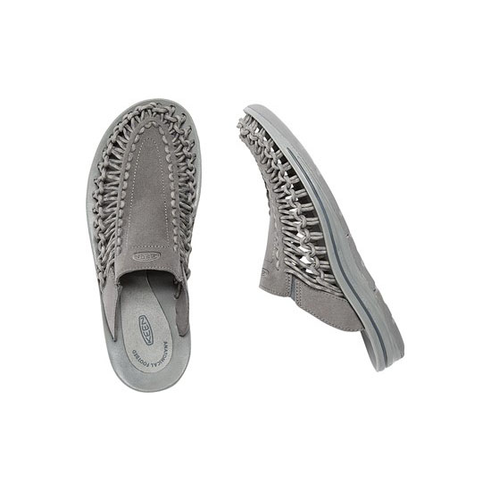 KEEN Men gargoyle/neutral gray UNEEK SLIDE Outlet Store