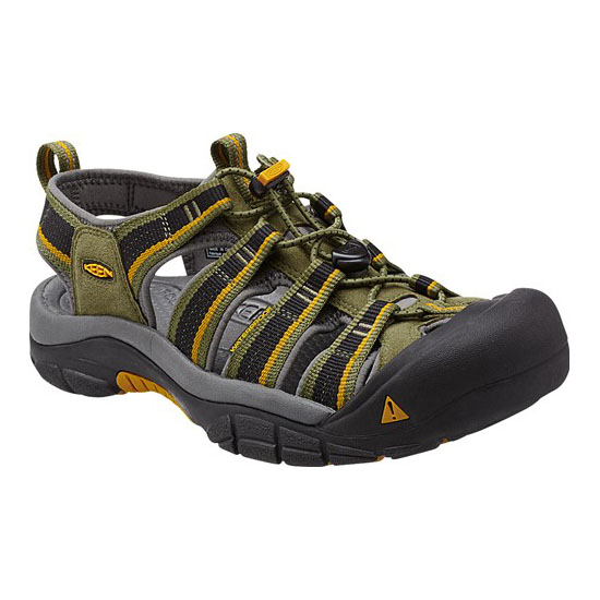 KEEN Men NEWPORT H2 burnt olive/golden yellow On Sale