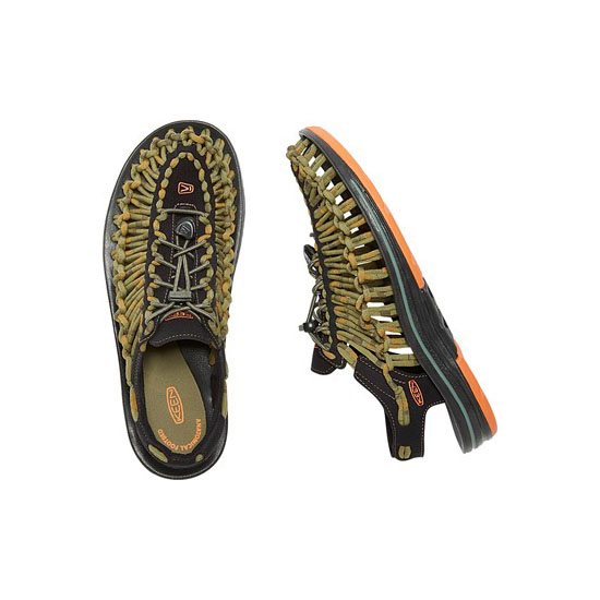 KEEN Men UNEEK ROUND CORD orange ochre/raya On Sale