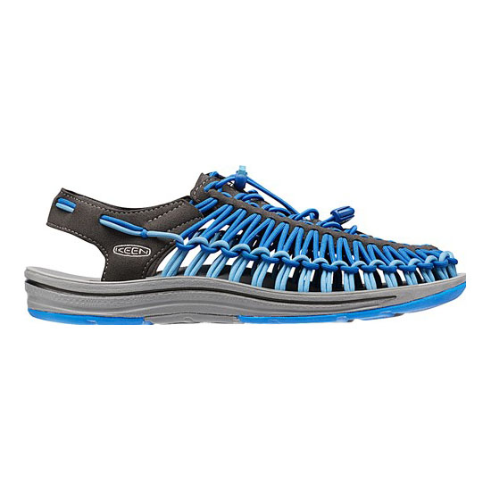 Men KEEN UNEEK ROUND CORD raven/imperial blue Outlet Online