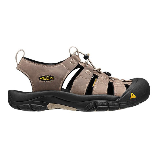 Cheap KEEN NEWPORT Men white pepper/black Online
