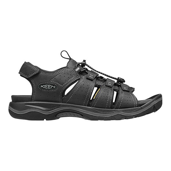 Men KEEN RIALTO OPEN TOE black/neutral gray Outlet Online