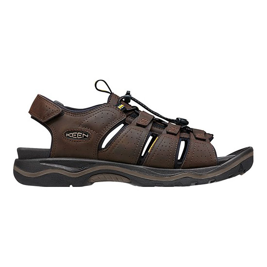 Cheap KEEN RIALTO OPEN TOE Men dark earth/black Online