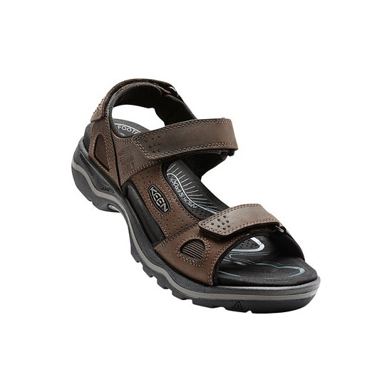 Men KEEN RIALTO 3 POINT dark earth/black Outlet Online