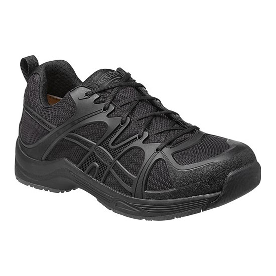 Men KEEN DURHAM AT ESD black Outlet Online
