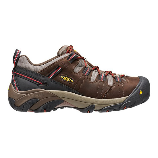 KEEN Men DETROIT LOW INTERNAL MET brown/bossa nova On Sale