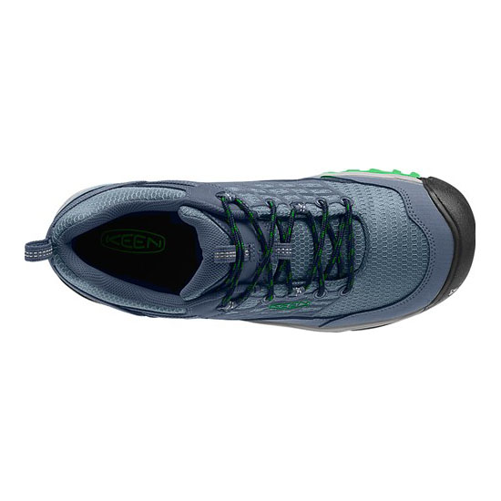 KEEN Men SALTZMAN WP dress blue/online lime On Sale
