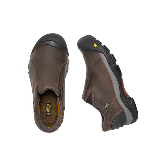 KEEN Men slate black/madder brown BRIXEN LOW Outlet Store