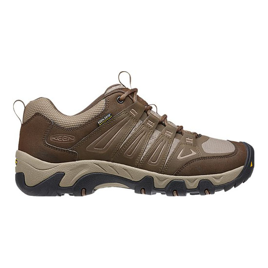 KEEN Men OAKRIDGE WATERPROOF cascase brown/brindle On Sale