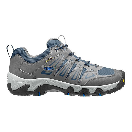 KEEN Men OAKRIDGE WATERPROOF gargoyle/midnight navy On Sale