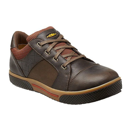 Men KEEN DESTIN LOW cascase brown/bombay brown Outlet Online