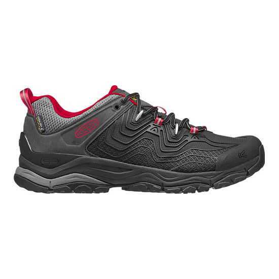 Cheap KEEN APHLEX WATERPROOF Men black/tango Online