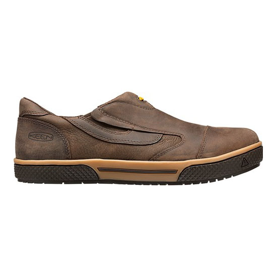 KEEN Men cascade brown DESTIN SLIP-ON ESD Outlet Store