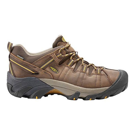KEEN Men cascade brown/goldlen yellow TARGHEE II WIDE Outlet Store