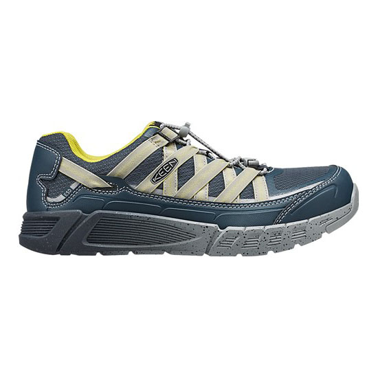 KEEN Men midnight navy/warm olive ASHEVILLE AT ESD Outlet Store