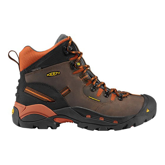 KEEN Men cascade brown/bombay brown PITTSBURGH (SOFT TOE) Outlet Store