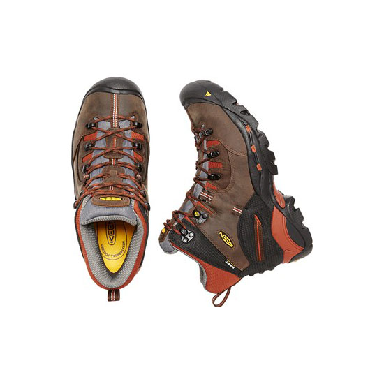 Men KEEN PITTSBURGH (SOFT TOE) cascade brown/bombay brown Outlet Online