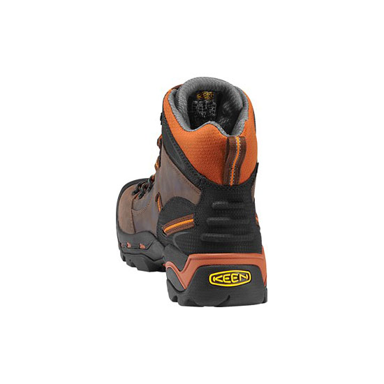 KEEN Men PITTSBURGH (SOFT TOE) cascade brown/bombay brown On Sale