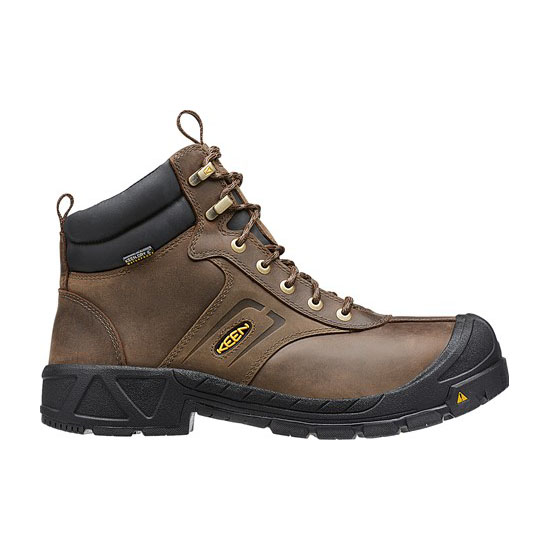 Men KEEN WARREN WATERPROOF cascade brown/bombay brown Outlet Online