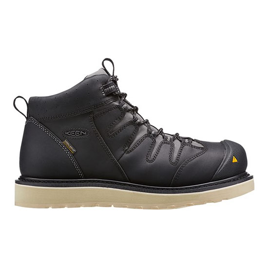 KEEN Men black GLENDALE WP (SOFT TOE) Outlet Store