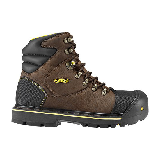 "KEEN Men slate black MILWAUKEE 6"" Outlet Store"