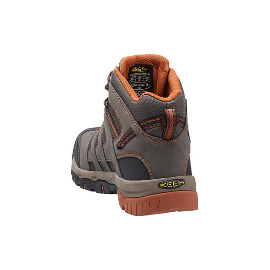 KEEN Men OMAHA MID WP black olive/gingerbread On Sale