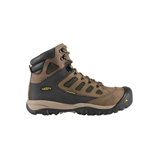 Men KEEN TUCSON MID black olive/burnt olive Outlet Online