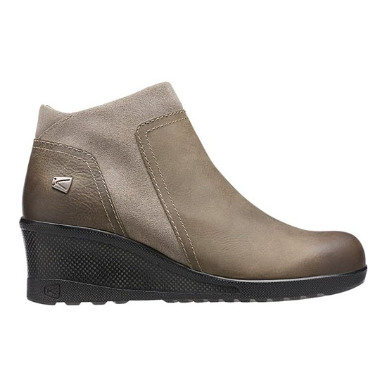 Women KEEN KEEN WEDGE ZIP brindle Outlet Online