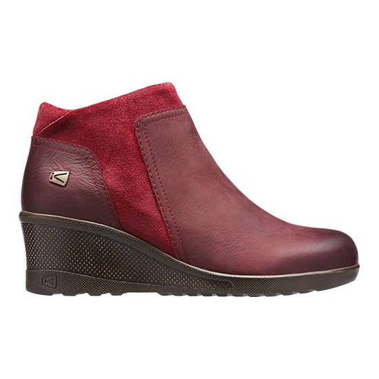 KEEN Women KEEN WEDGE ZIP red dahlia On Sale