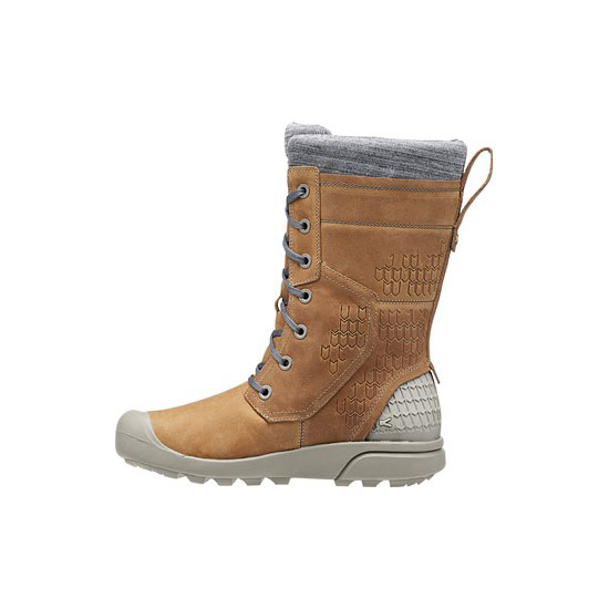 KEEN Women cookie dough FREMONT LACE TALL BOOT Outlet Store