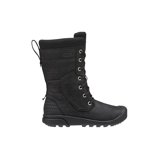 KEEN Women black FREMONT LACE TALL BOOT Outlet Store