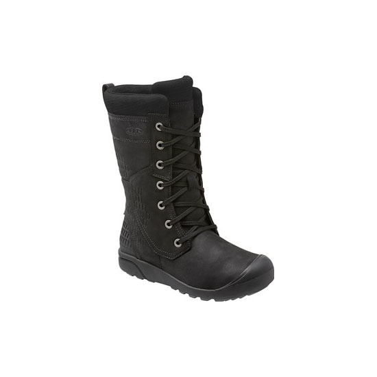 Cheap KEEN FREMONT LACE TALL BOOT Women black Online