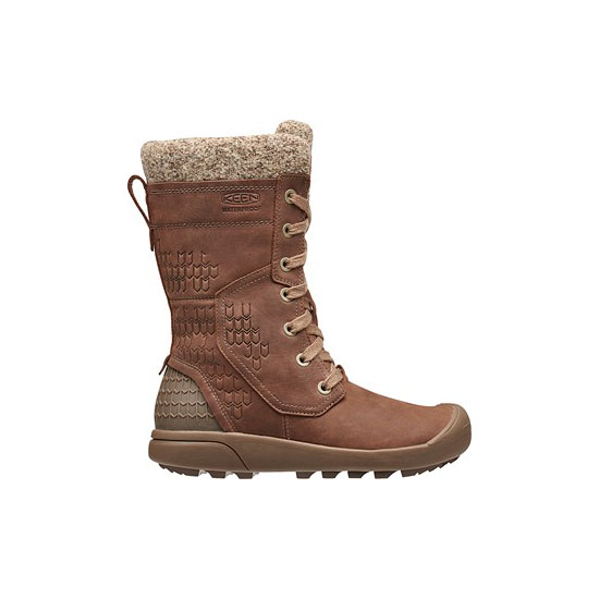 Women KEEN FREMONT LACE TALL BOOT whiskey Outlet Online
