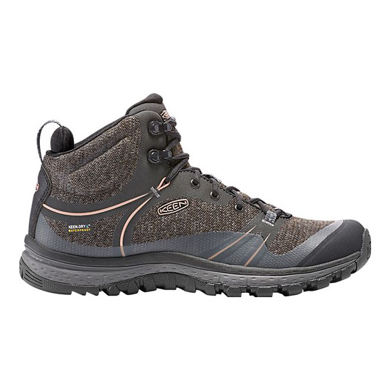 Women KEEN TERRADORA WATERPROOF BOOT raven/rose dawn Outlet Online
