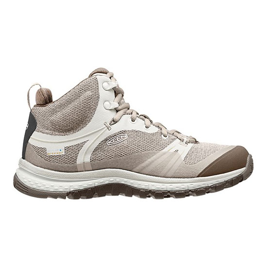 Women KEEN TERRADORA WATERPROOF BOOT silver brich/canteen Outlet Online