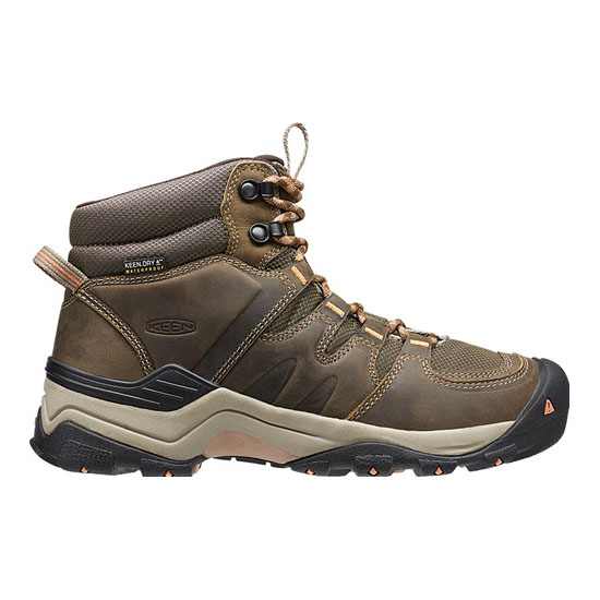 KEEN Women GYPSUM II WATERPROOF BOOT cornstock/gold coral On Sale