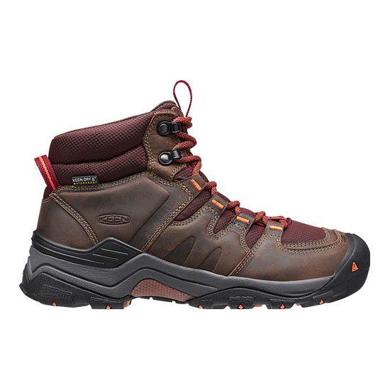 Women KEEN GYPSUM II WATERPROOF BOOT cocoa/tiger lilly Outlet Online