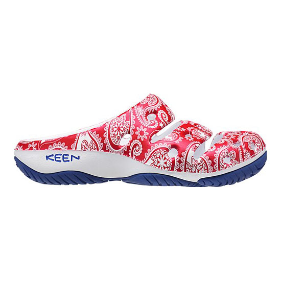 KEEN Women YOGUI ARTS X THC red paisley On Sale
