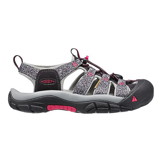 Women KEEN NEWPORT H2 black/bright rose Outlet Online