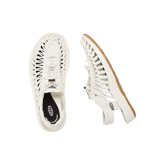 Women KEEN UNEEK ROUND CORD LTD white/black Outlet Online
