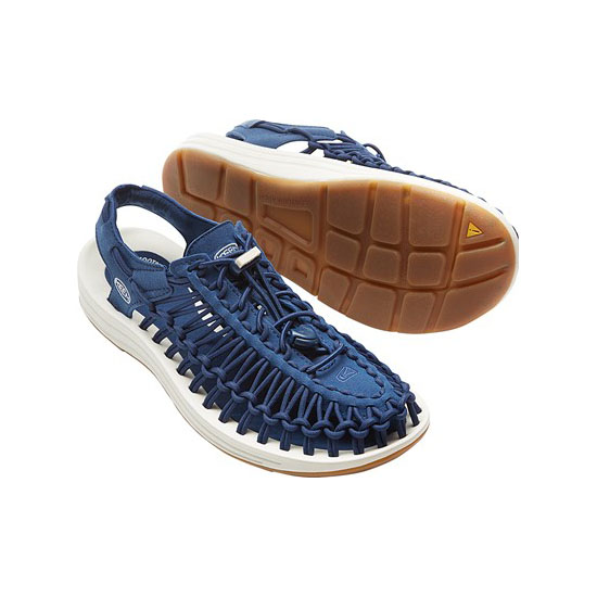 Cheap KEEN UNEEK ROUND CORD LTD Women estate blue/white Online