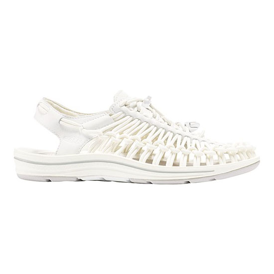 Women KEEN UNEEK LEATHER white/star white Outlet Online