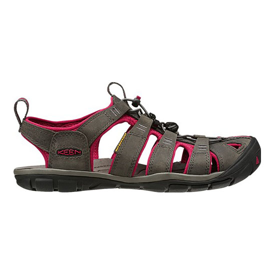KEEN Women magnet/sangria CLEARWATER LEATHER CNX Outlet Store