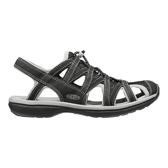 KEEN Women black/neutral gray SAGE SANDAL Outlet Store