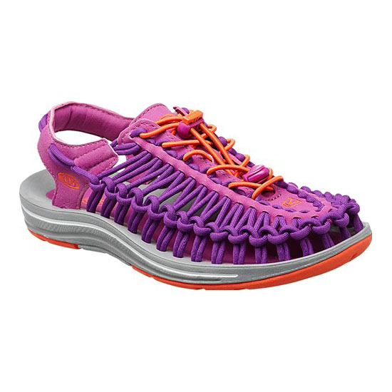 KEEN Women purple wine/tigerlily UNEEK ROUND CORD Outlet Store