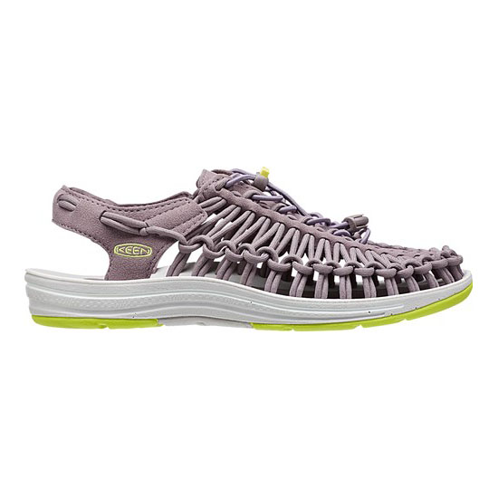 KEEN Women UNEEK ROUND CORD shark/sulphur spring On Sale