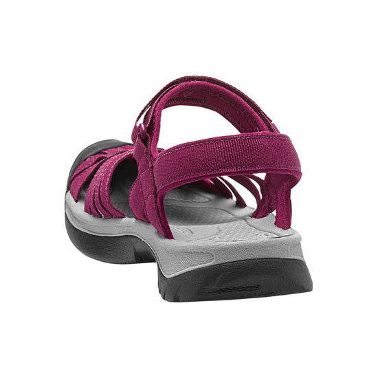 Women KEEN ROSE SANDAL beet red/neutral gray Outlet Online