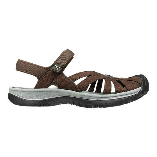 KEEN Women cascade brown/neutral gray ROSE SANDAL Outlet Store